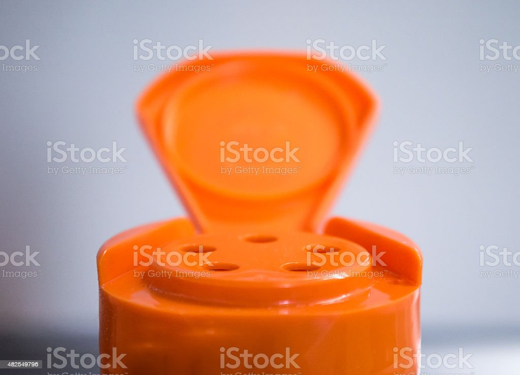 Frontal View of a Spice Shaker/Container royalty-free stock photo