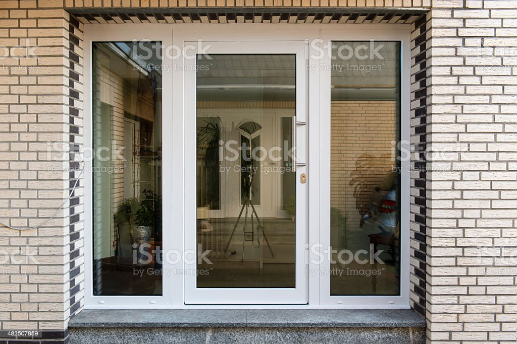 frontdoor stock photo