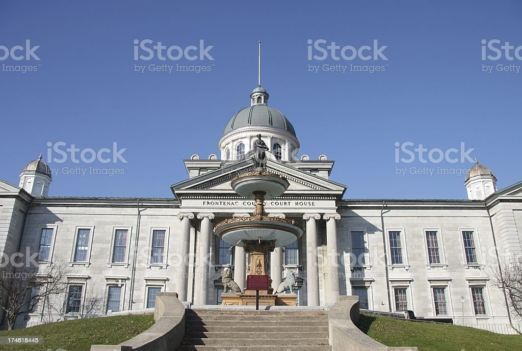 Frontenac County Court House Wide Angle royalty-free stock photo
