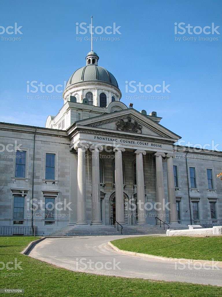 Frontenac County Courthouse royalty-free stock photo