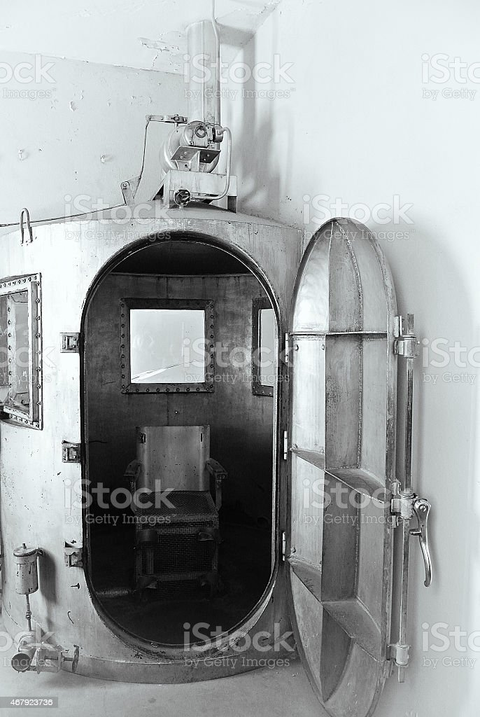 Frontier Prison Gas Chamber stock photo