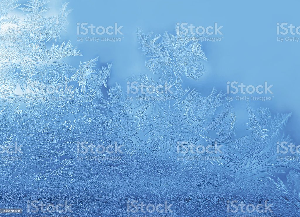 frost abstract background royalty-free stock photo