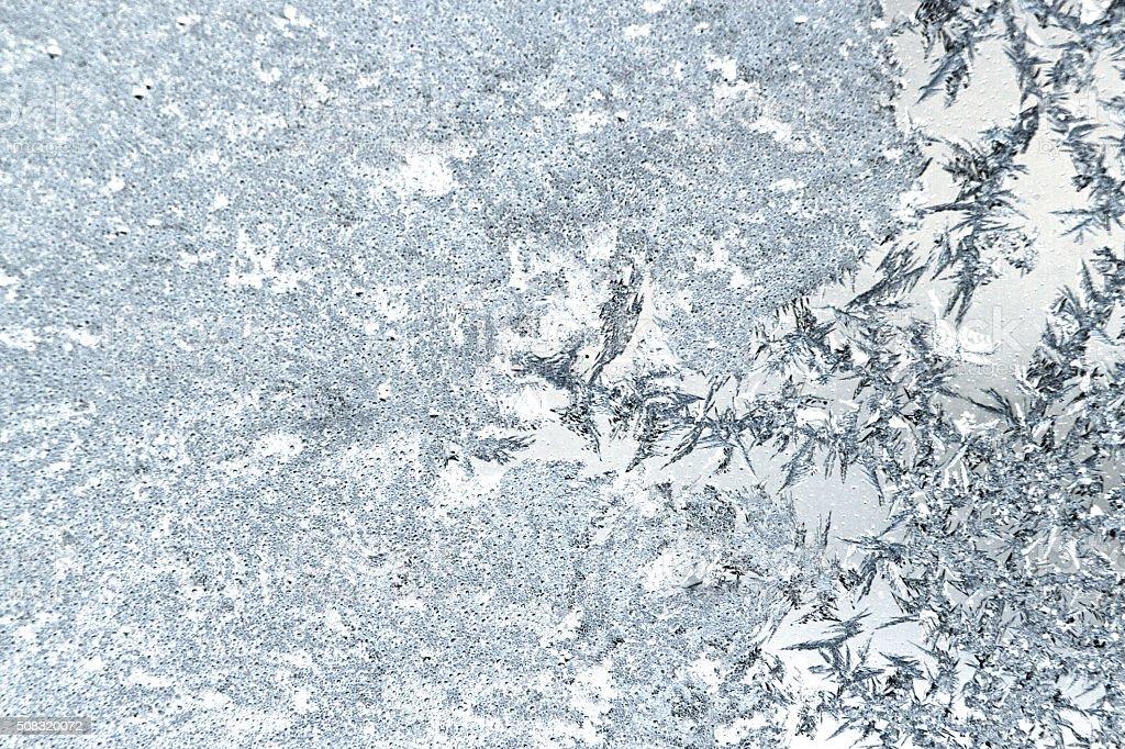 Frost art stock photo