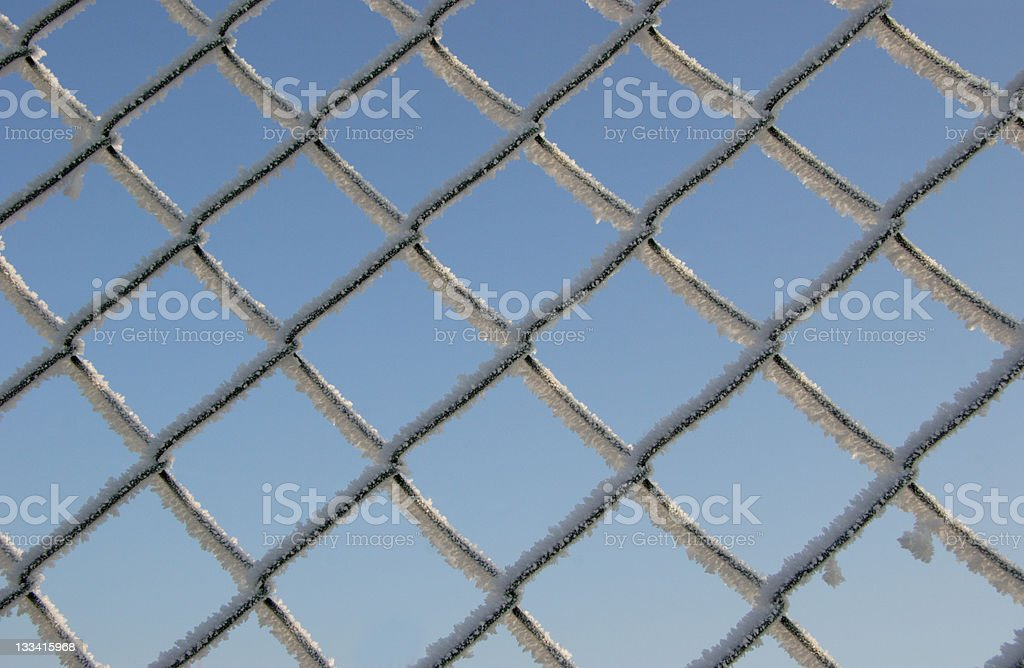 frost geometrical royalty-free stock photo