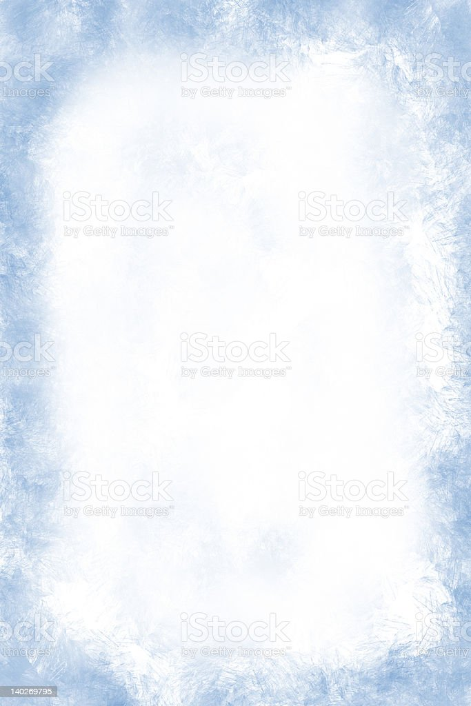 Frost grunge stock photo