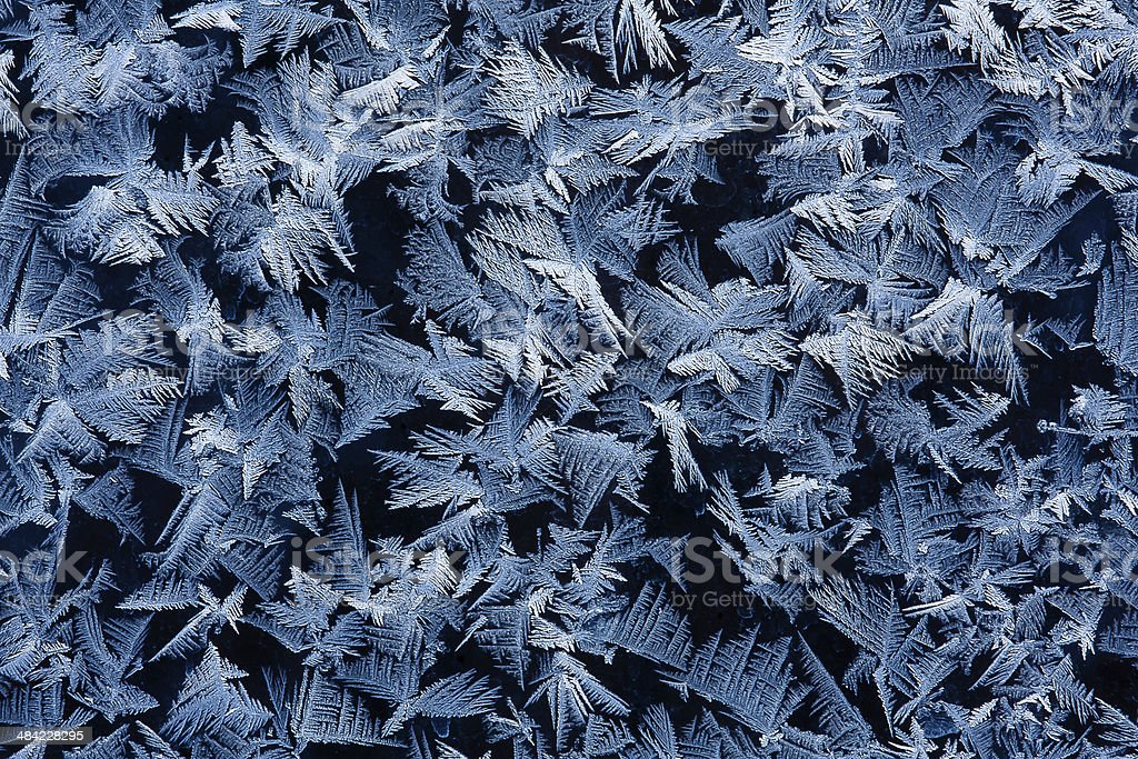 frost on glass royalty-free stock photo
