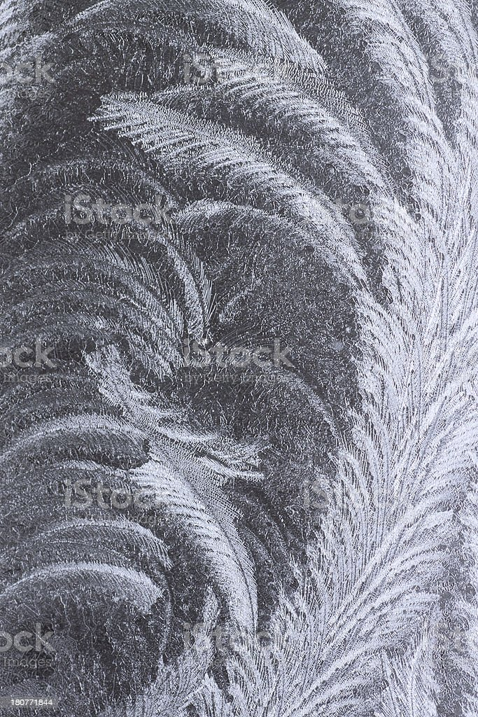 frost pattern royalty-free stock photo