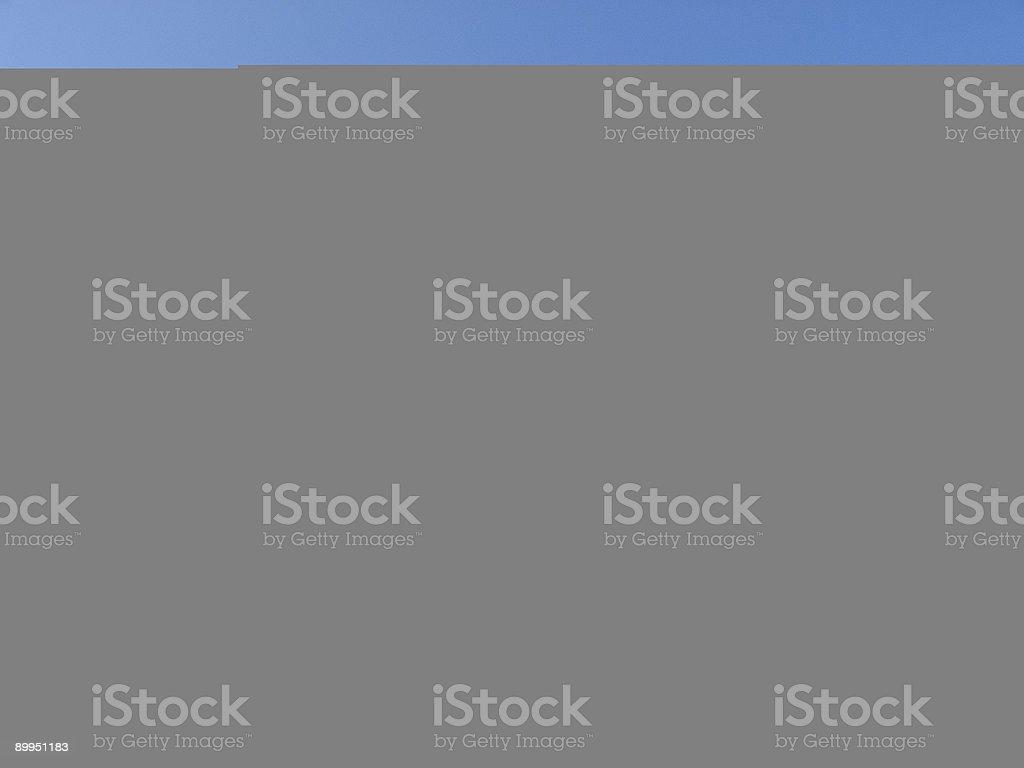Frost pattern stock photo