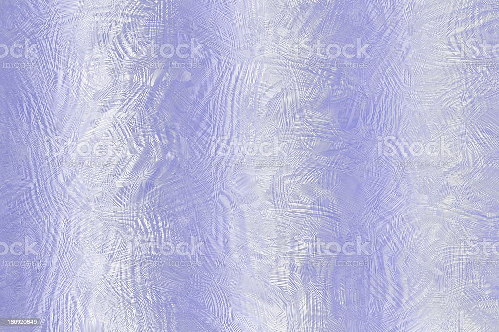 Frosted glass background in delicate shades of blue. royalty-free stock photo