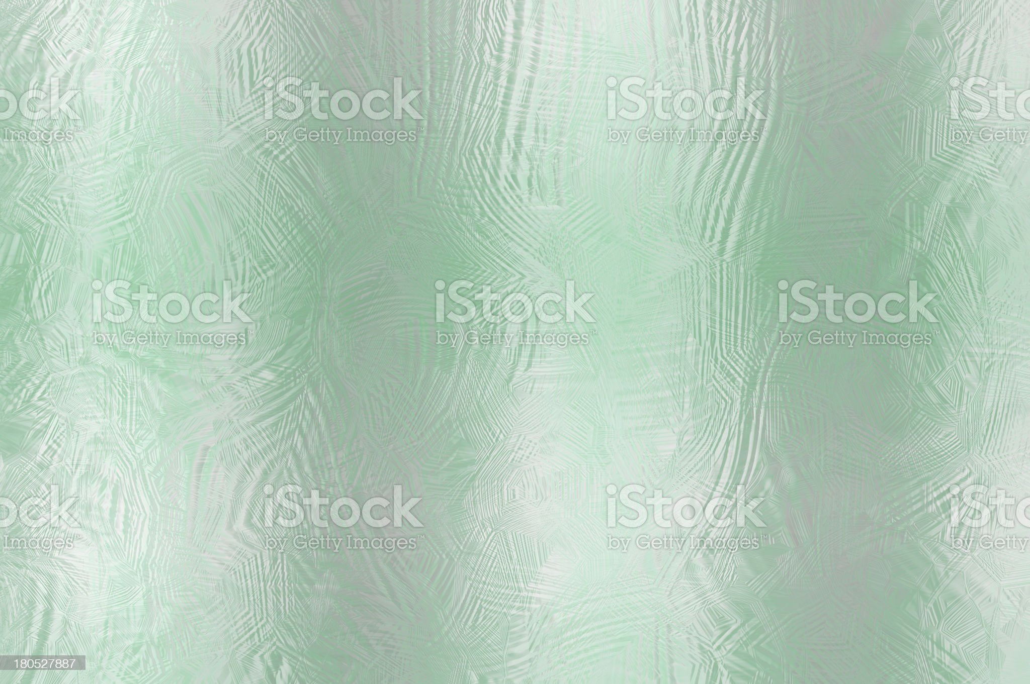Frosted glass background in delicate shades of green. royalty-free stock photo