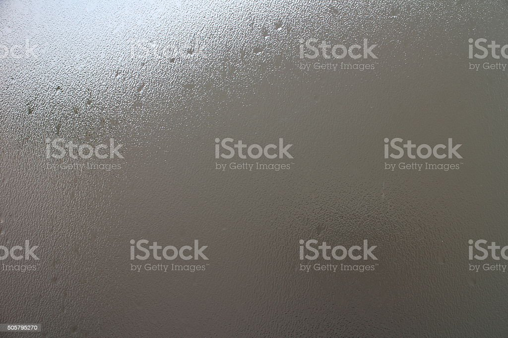 Frosted Glass in Grey stock photo