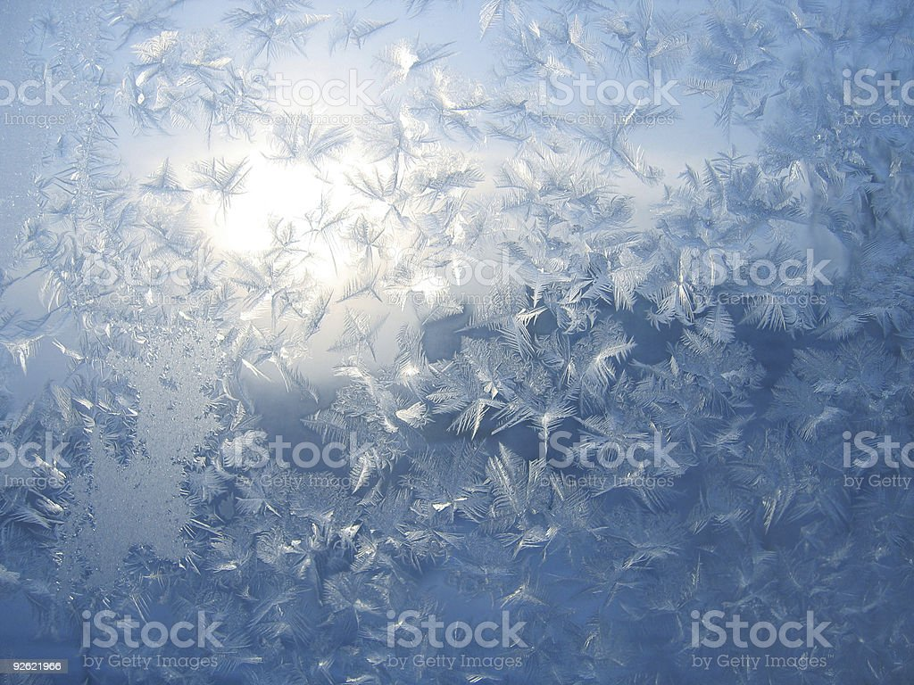 frosted glass royalty-free stock photo