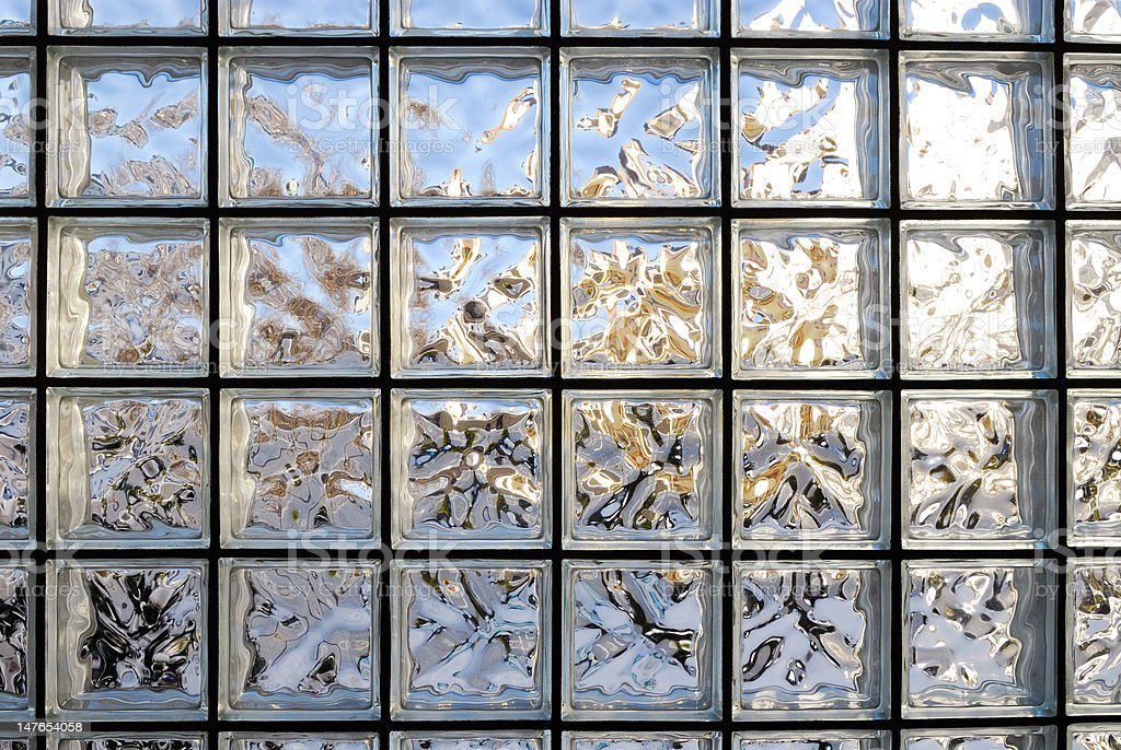 Frosted Glass Tile Window royalty-free stock photo