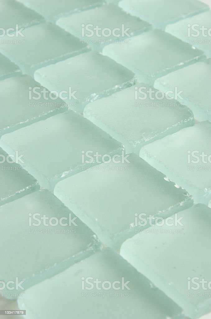 frosted glass tiles royalty-free stock photo