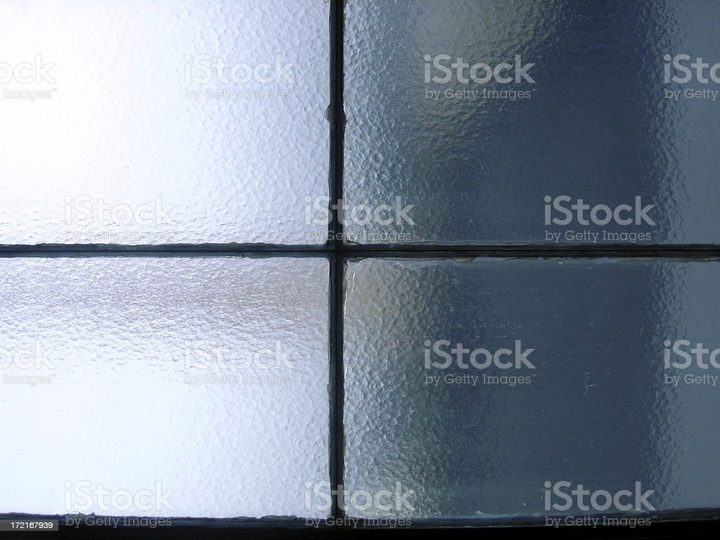 frosted glass window royalty-free stock photo