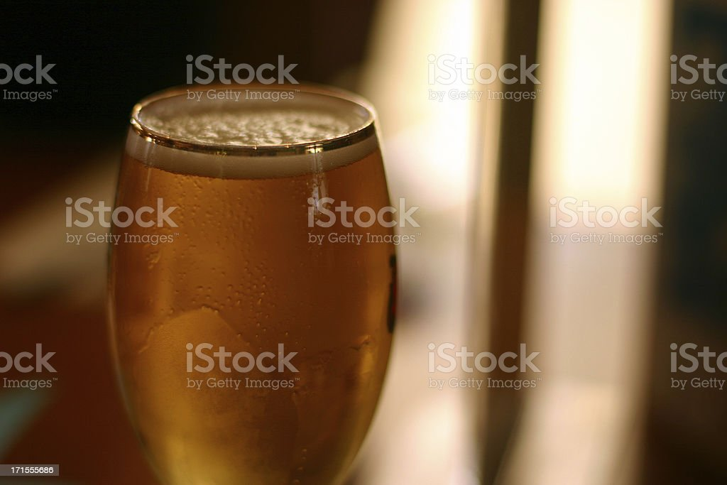 frosty beer royalty-free stock photo