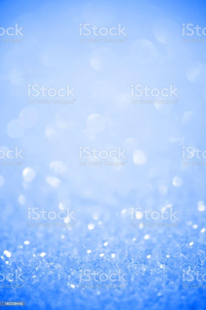 Frosty Cold Glitter Background stock photo
