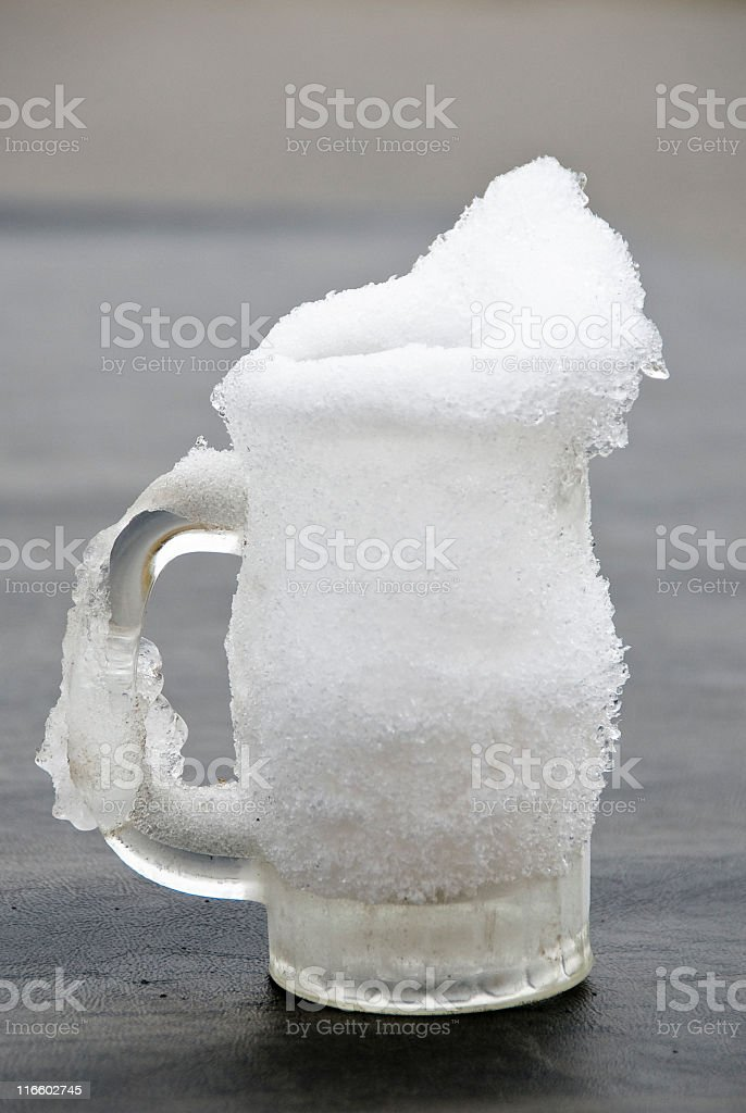 Frosty Mug royalty-free stock photo