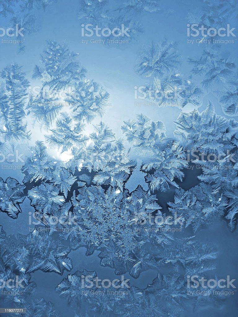 frosty natural pattern royalty-free stock photo