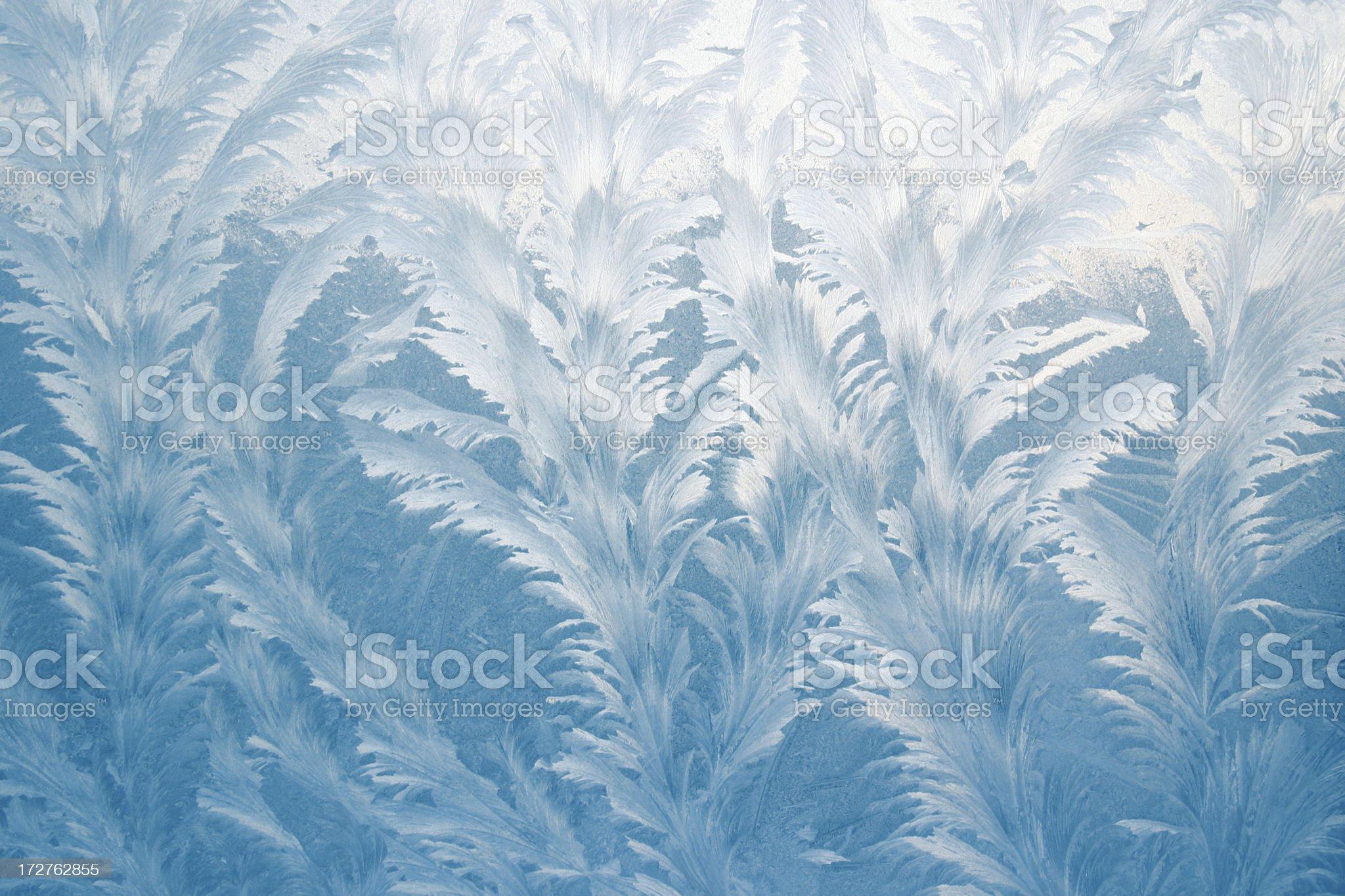 Frosty pattern royalty-free stock photo