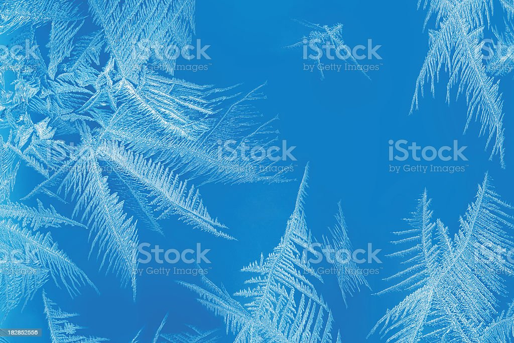 Frosty pattern royalty-free stock photo