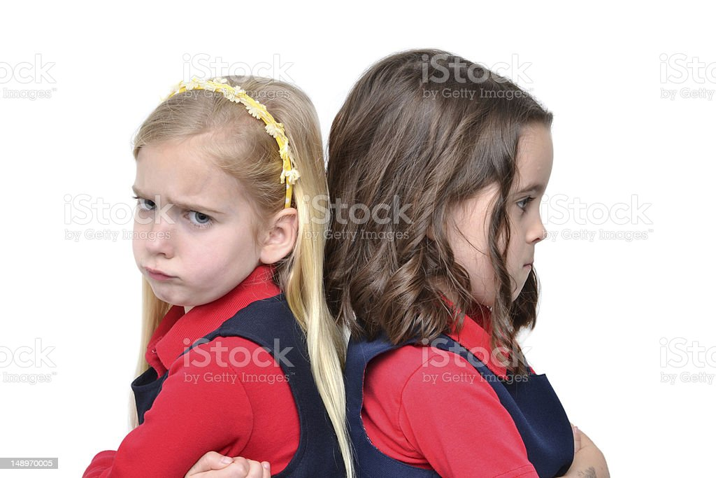 Frowns royalty-free stock photo