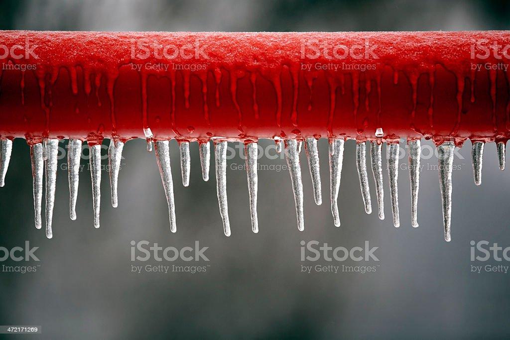 frozen bar stock photo