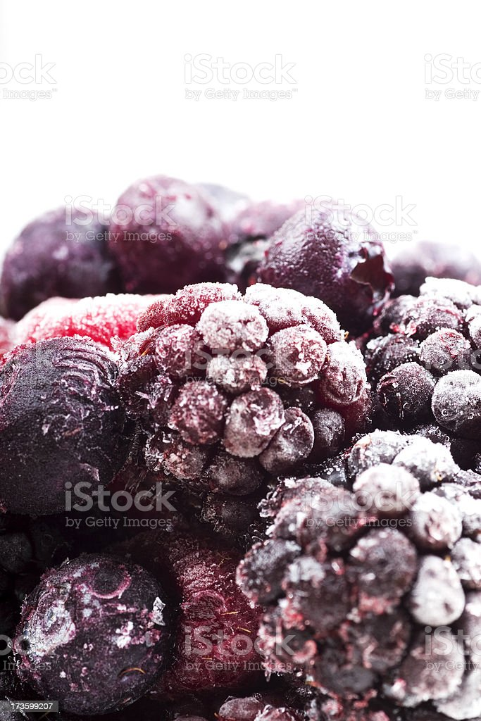 Frozen Berries royalty-free stock photo