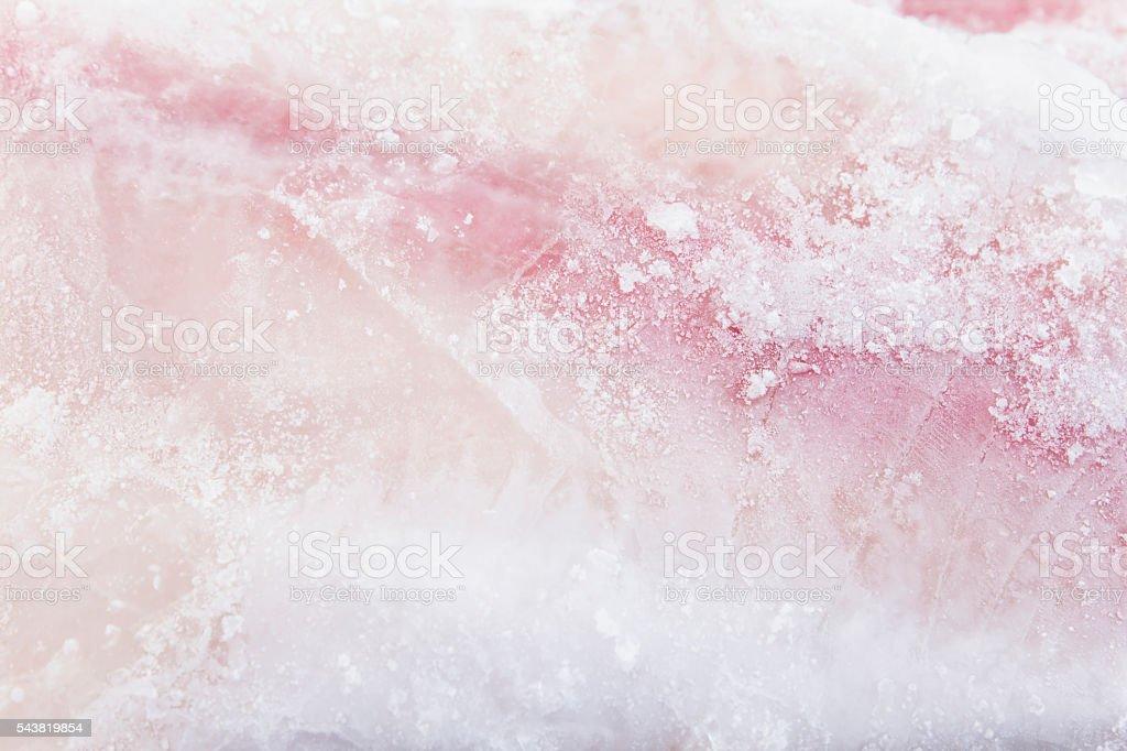 Frozen Catfish Fillet Closeup as Background stock photo
