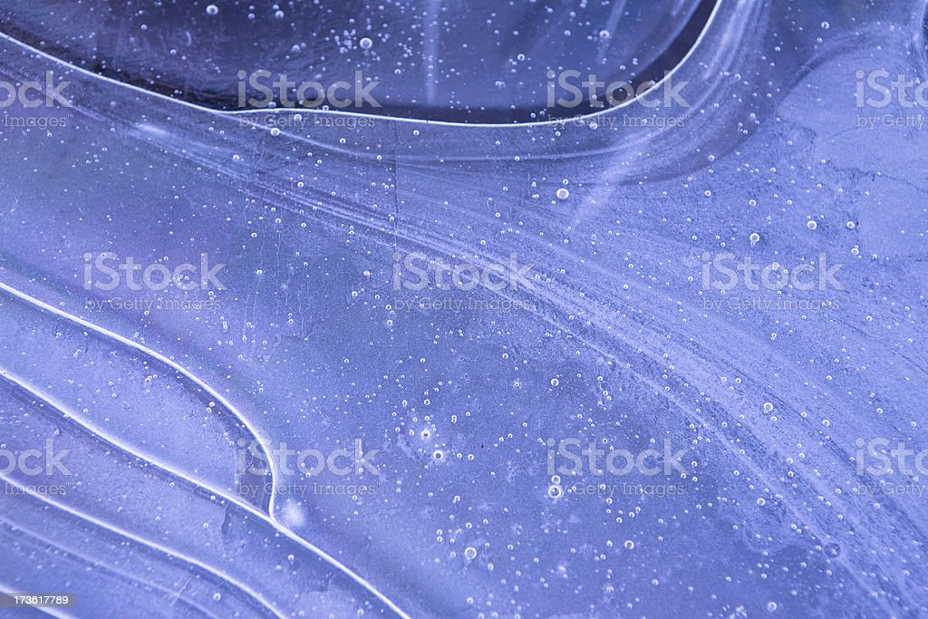 frozen curves royalty-free stock photo