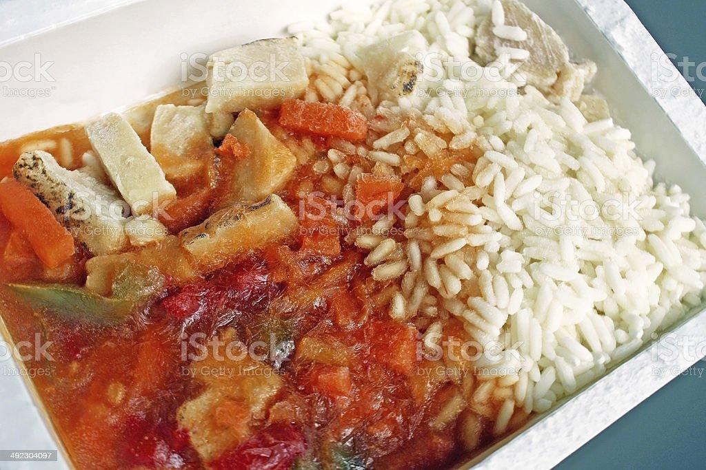 Frozen Dinner stock photo