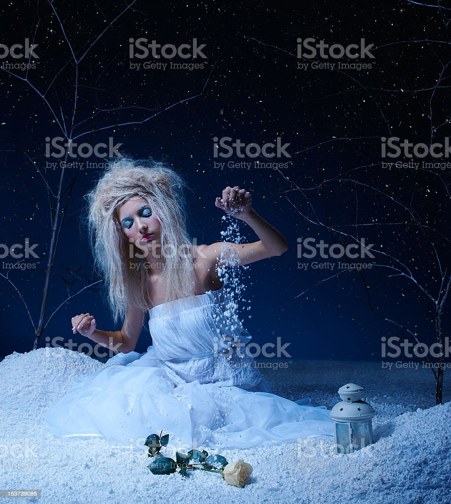 frozen fairy royalty-free stock photo