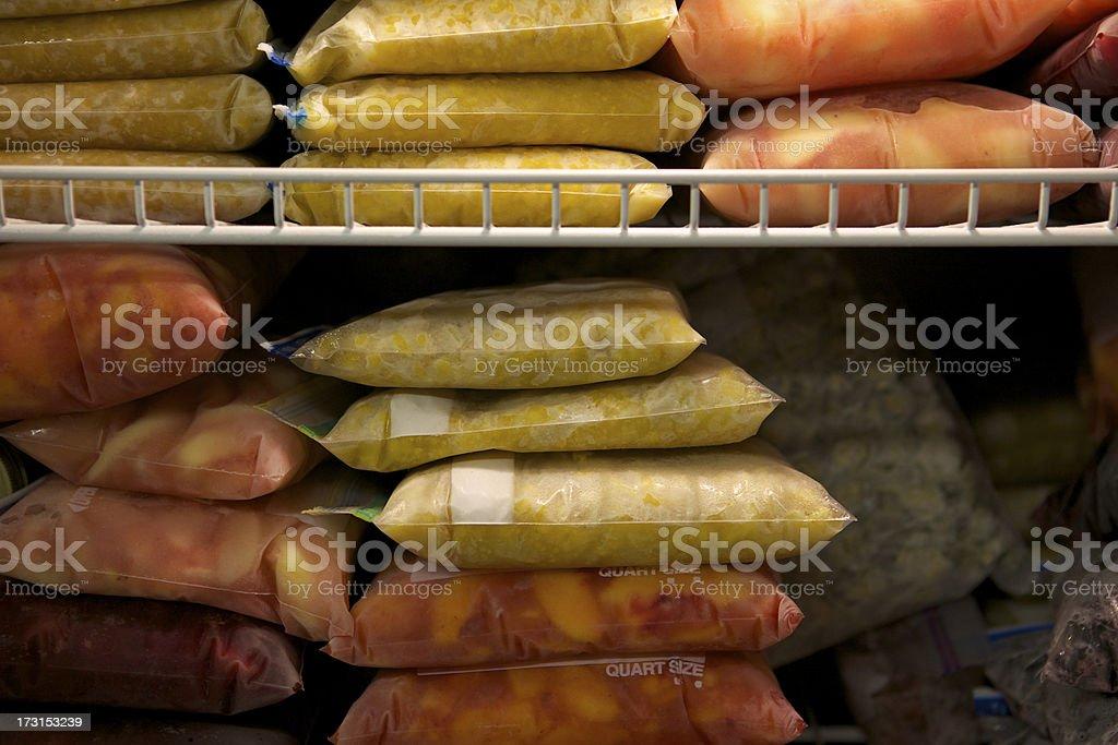 Frozen Food stock photo