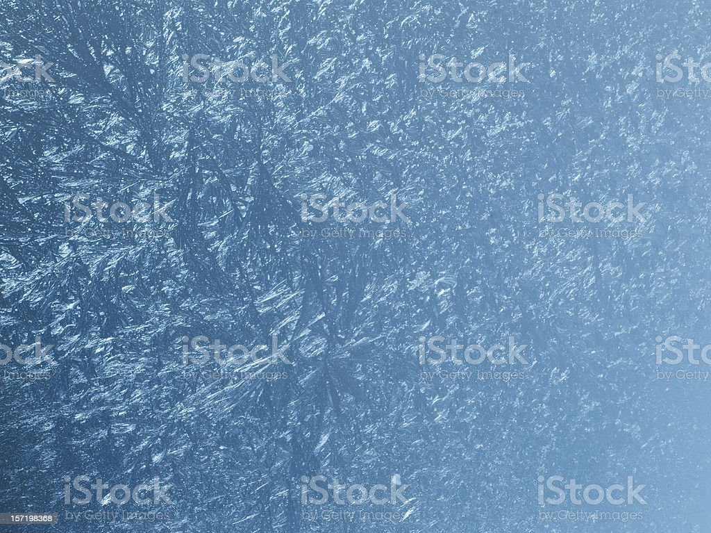 Frozen glass royalty-free stock photo