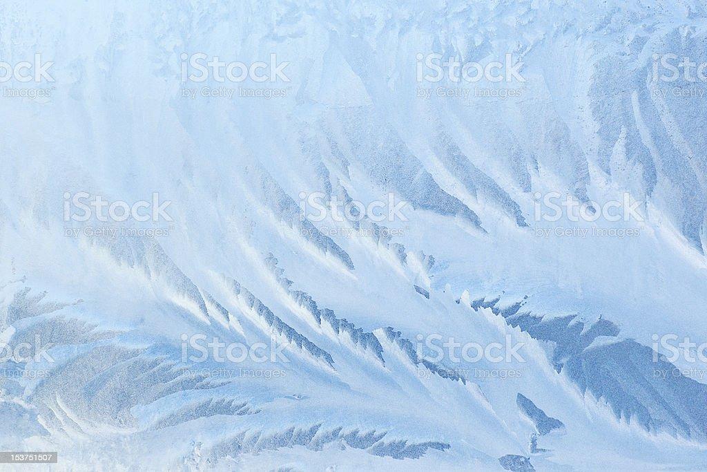 Frozen glass texture royalty-free stock photo