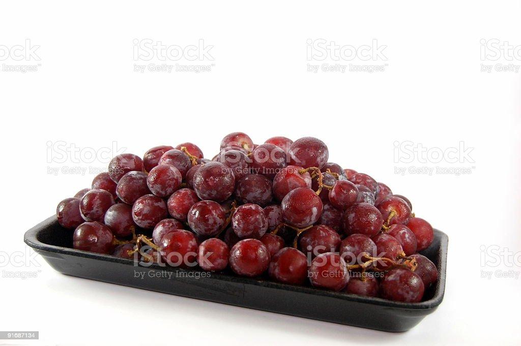 Frozen Grapes Photograph stock photo