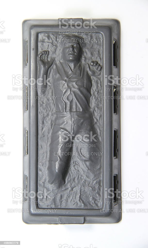 Frozen in Carbonite royalty-free stock photo