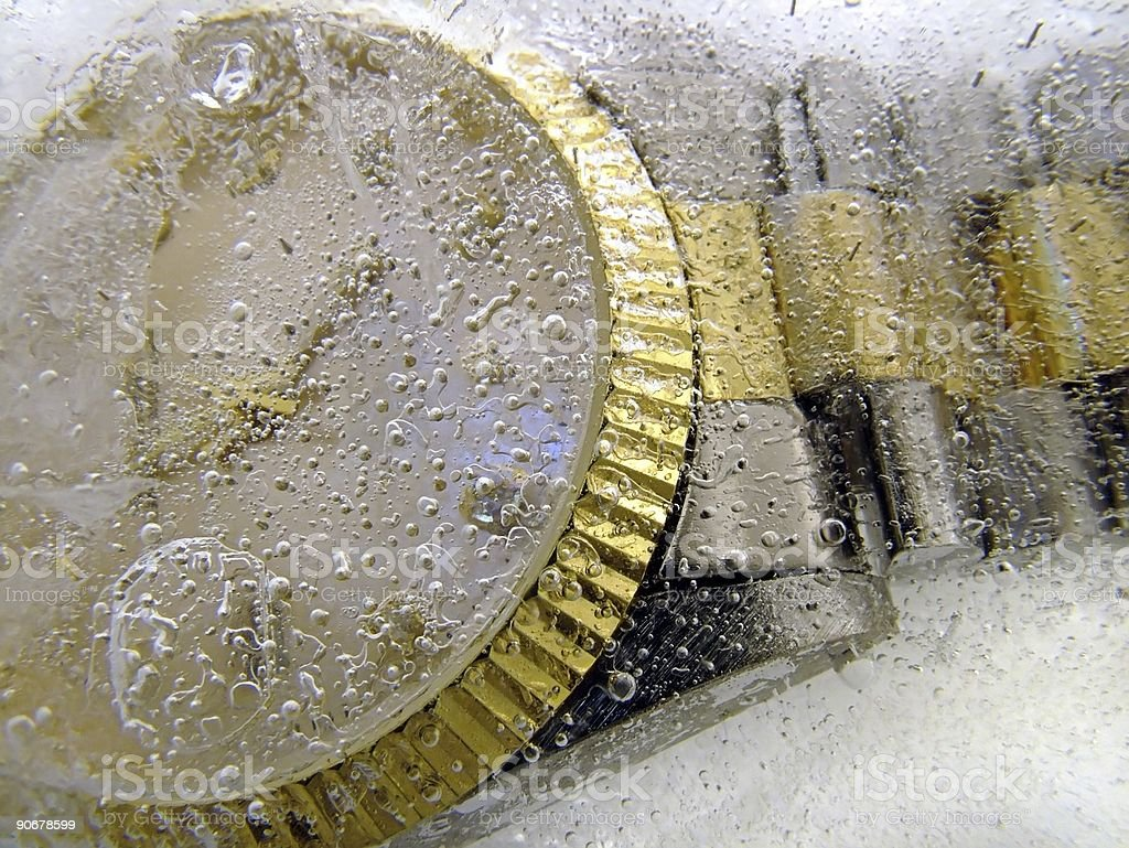 Frozen in Time 1 royalty-free stock photo