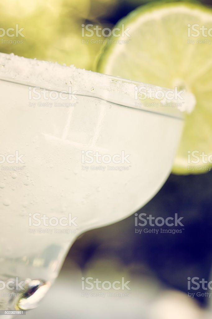 Frozen Margarita as Fresh Summer Drink royalty-free stock photo