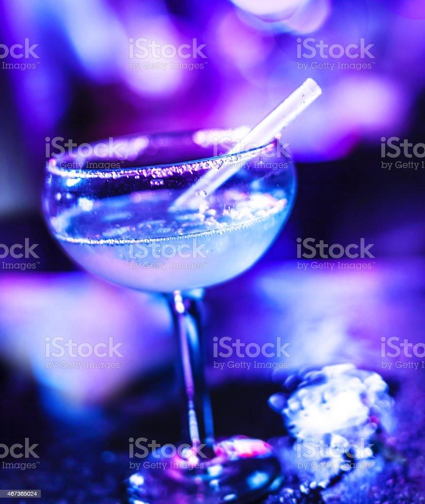 Frozen Margarita cocktail stock photo