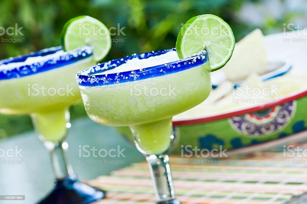 Frozen Margaritas stock photo