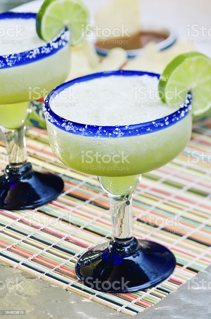 Frozen Margaritas stock photo