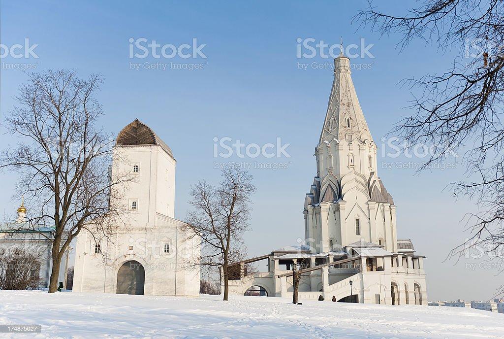 Frozen Monastery royalty-free stock photo