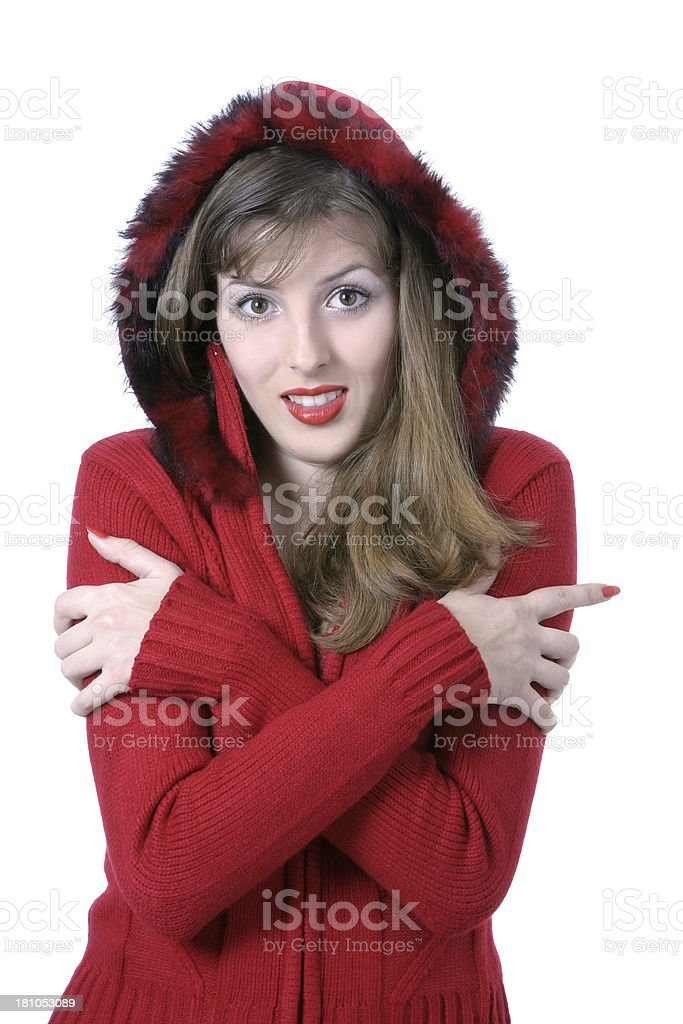Frozen royalty-free stock photo