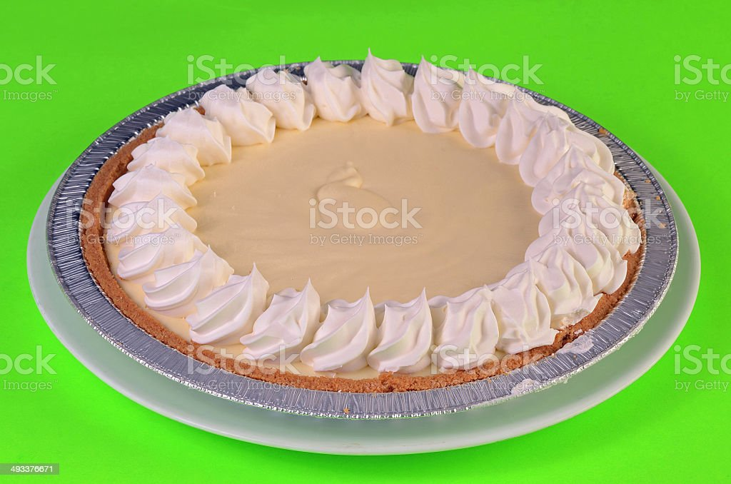 Frozen Pie stock photo