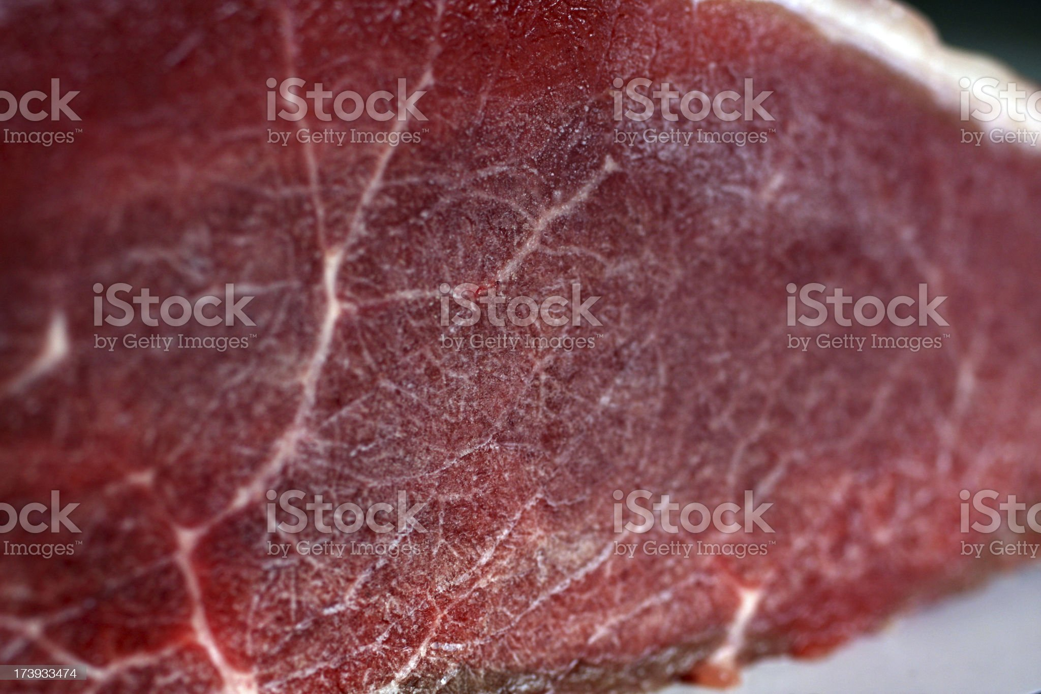 Frozen Raw Meat royalty-free stock photo