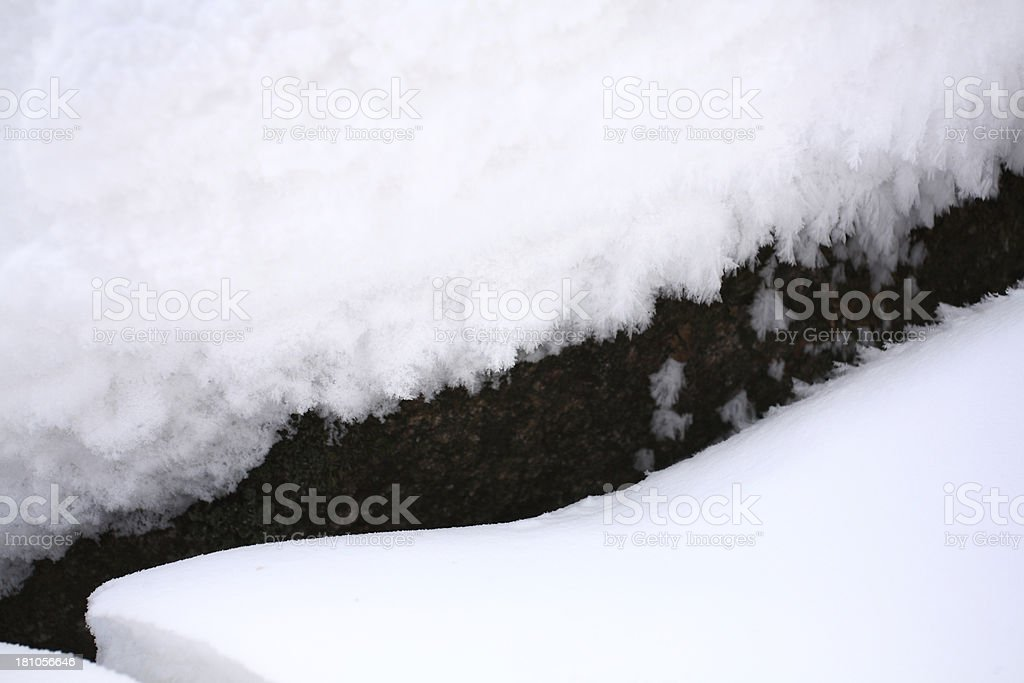Frozen Roof royalty-free stock photo