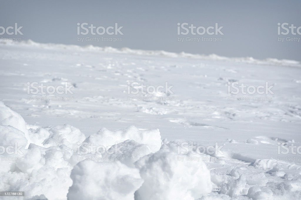 Frozen Scene royalty-free stock photo