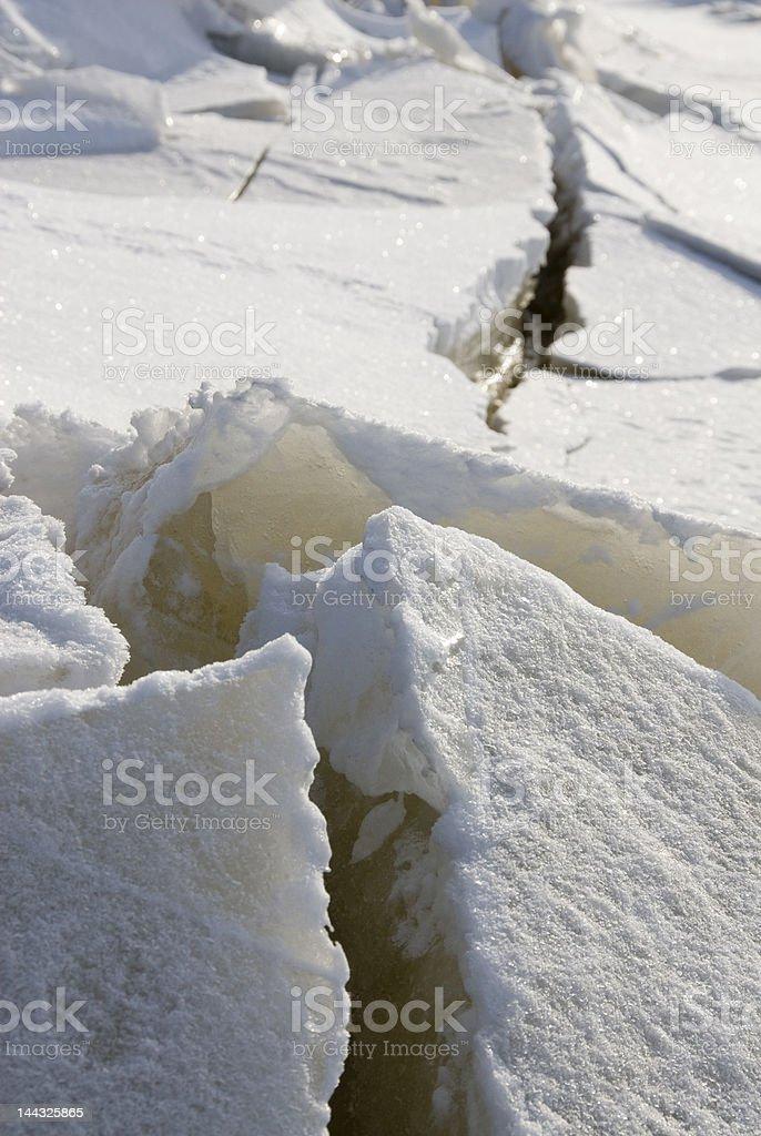 frozen sólido foto de stock libre de derechos