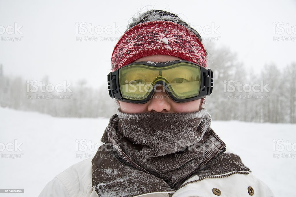 Frozen stare royalty-free stock photo